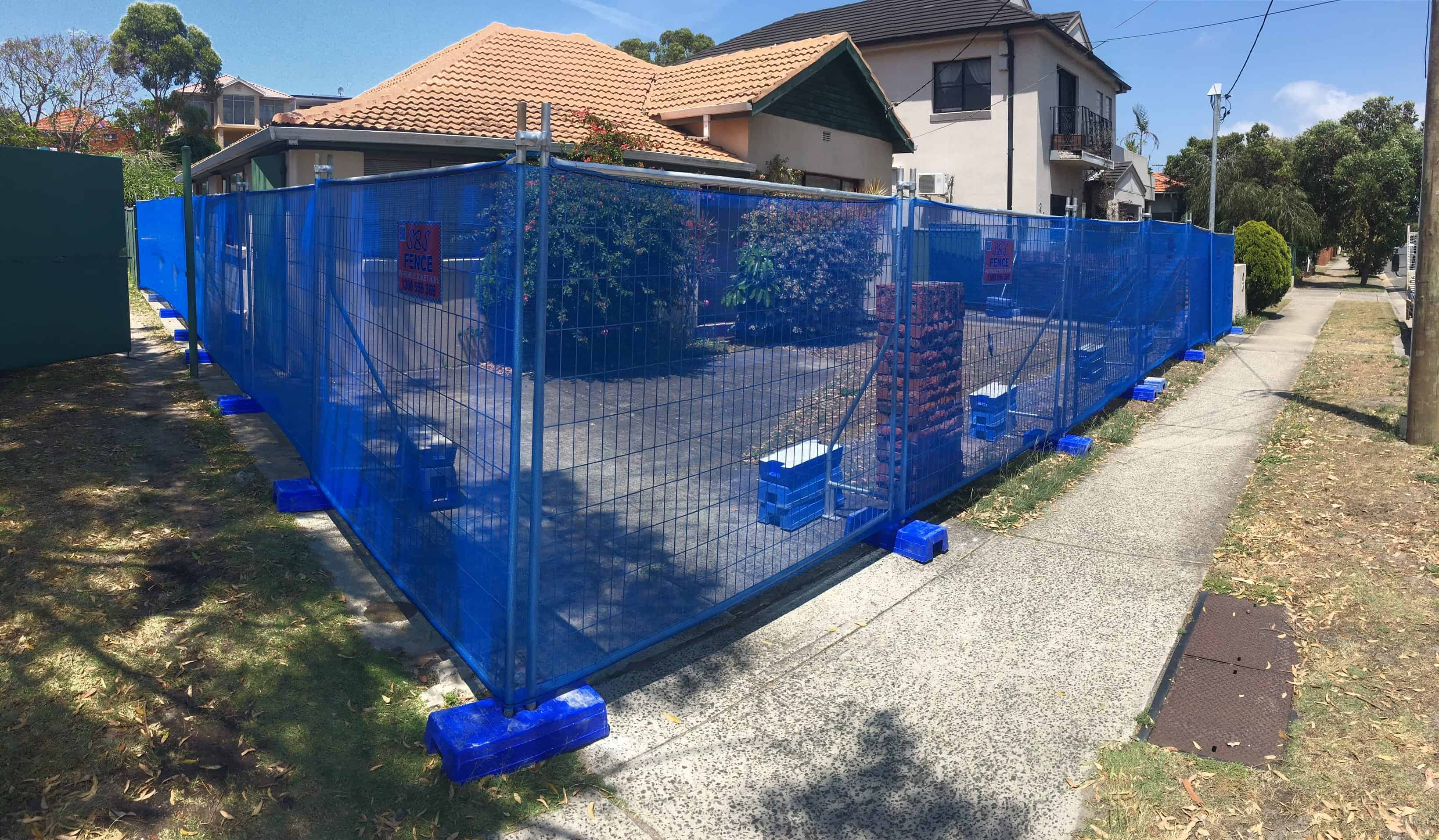 Temporary Fence Systems Sydney Sbs Fence