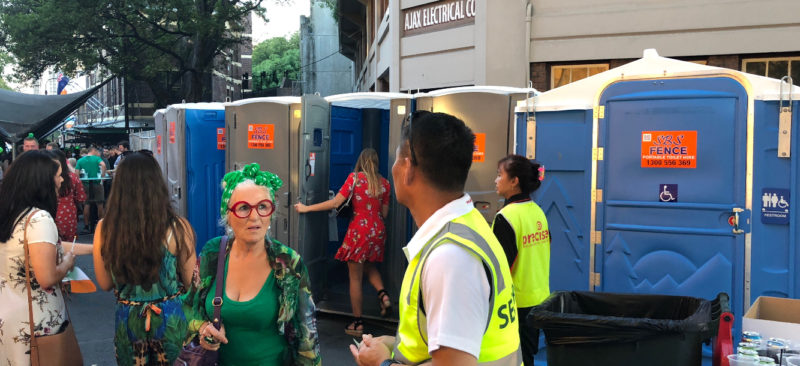 Party&event toilet hire